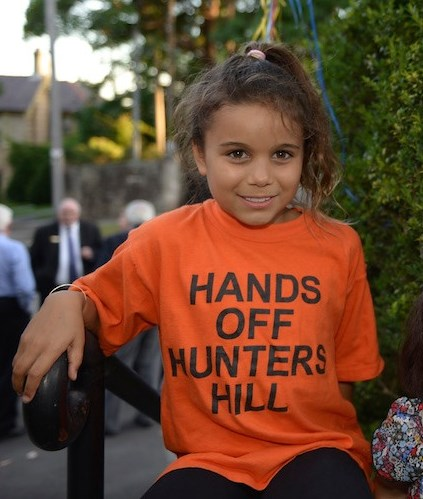 Save Hunters Hill Rally, 24th February 2016