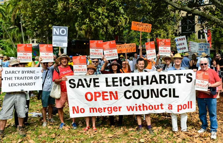 SOCC Hyde Park Rally photo 10 Go Leichhardt 13 March 16