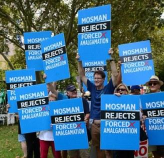 SOCC Hyde Park Rally photo 9 Go Mosman 13 March 16