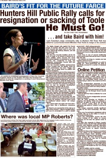 SHHMC A NO Vote for Roberts at Rally TWT 2 March 16